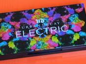 Palette Electric Urban Decay: swatches prime impressioni
