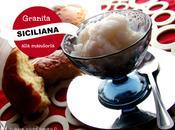 Granita siciliana alla mandorla
