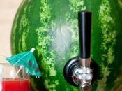 Dispenser originale cocktail? pensa l'anguria!
