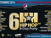 B-DAY PARTY: parte count down sesto compelanno settembre Mediolanum Forum Assago (Milano)
