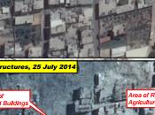 Gaza prima dopo bombardamenti: fotografia satellite