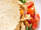Tacos morbidi mais pollo pomodorini asiago