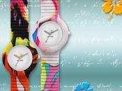 Moda Watches: collezione Tahiti, motivi floreali colori vivaci