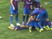 Aktobe-Steaua Bucarest 2-2, video goals