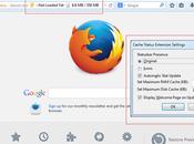 Cache Status addon gratuito Firefox consente liberare memoria occupata eccesso.