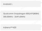 Motorola Shamu (Nexus avrà display pollici