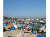 Ferragosto: tende falò hanno invaso Porto Palo Menfi