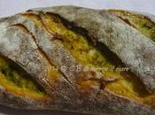 Baguette profumata pesto basilico