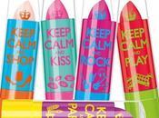 Keep Calm Balm, balsami colorati secondo Rimmel London.