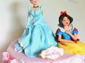 Cenerentola Biancaneve cake topper principesse Disney