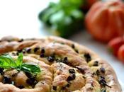 Pizza torsadée focaccia?)