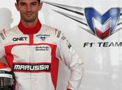 Alexander Rossi sostituirà Chilton Marussia