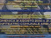 """""""Ritmicamente Arbus"""": concerto musica minimalista d'avanguardia, agosto 2014, Arbus"""