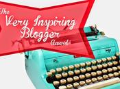 Premio: Very Inspiring Blogger Award