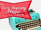 Premio: Very Inspiring Blogger Award