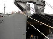 Armi chimiche, trasbordo porto Gioia Tauro