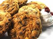Cookies cioccolato cranberries.