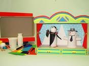 Giochi bambini, ecco come costruire teatino riciclo creativo.