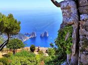 L'isola Capri mese diventa scena spazio espositivo diffuso, outdoor indoor
