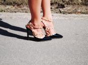 Romwe jumpsuit Milanoo heels