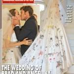 L'abito nozze Angelina Jolie