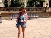 #ootd: Sassari (Pezzi rubati dall'armadio mamma look palme. Sardegna, giorno