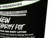 Novità Lush: crema mani corpo Charity
