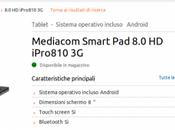 Mediacom Smart iPro810 disponibile MarcoPoloShop euro