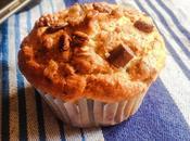 Muffin avena cioccolato