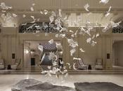 Installazione artistica: Dancing Leaves Paris.