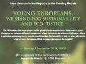 "presenta Bruxelles: ""Young Europeans: stand sustainability eco-justice!"""