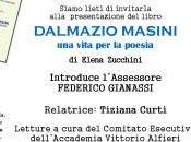 """presentazione libro """"UNA VITA POESIA -DALMAZIO MASINI""""di Elena Zucchini"""