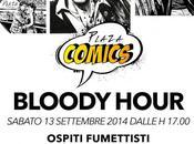 Plaza Comics, nuovo aperitivo fumetti settembre Freghieri, Statella, Benevento Detullio.