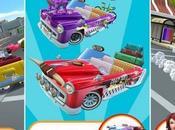 Crazy Taxi City Rush aggiornato nuovi veicoli nuova area giochi