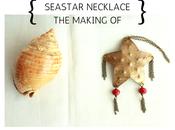 Seastar necklace making