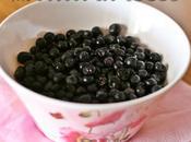 Frutta stagione: mirtilli
