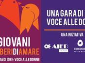 Parte oggi contest #Giovani #LiberiDiAmare, gara idee