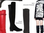 Stivali: ginocchio over-the-knee l'Autunno 2014 Trend Scarpe