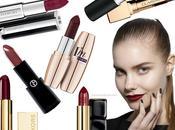 Vampy Lips: migliori rossetti dark labbra scure seducenti Trend Make Autunno 2014