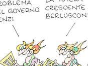 Totale sintonia Renzi destra becera Berlusconi, Ichino Sacconi. Rispediamolo vendere giornali