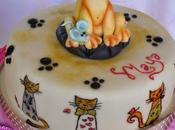 Torta gattino topolini!
