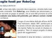 Detroit raccoglie fondi Robocop