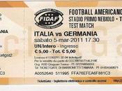 Football Americano: Italia-Germania ecco biglietto!