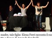 """Intervista Elena Ferri, protagonista Amanda Sandrelli """"Tale madre, tale figlia"""""""