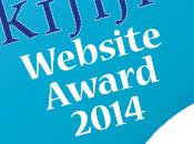 """blog vince """"Website Award 2014"""""""