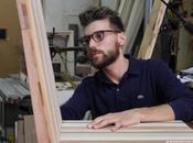 "falegname sfrutto lauree Ingegneria Design Industriale"". L'esperienza Marco, porta digitale bottega"