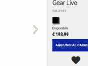 Samsung Gear Live disponibile eStore