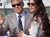 George Clooney Amal Alamuddin sono sposati Venezia