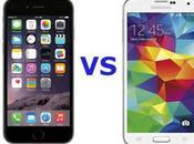 Samsung Galaxy iPhone video confronto italiano