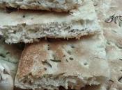 Focaccia rosmarino aglio esubero